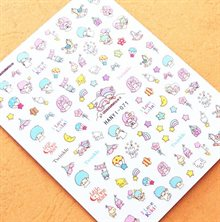 Nagelstickers - Little Twin Stars (HANYI-071)
